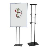 Ad Picture Metal Frame Poster Display Stand Knock Down Structure Customized Size