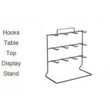 Welded Wire Display Rack For Table Tops , One Side Wire Table Top Display Stands