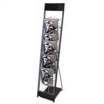 10 Wire Pocket Collapsible Office Display Racks With Bags Customized Size