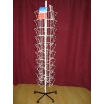 OEM Iron Wire Metal Book Display Stand