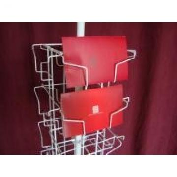 24 Landscape Wire Book Display Stands / Greating Card Wire Book Rack Display