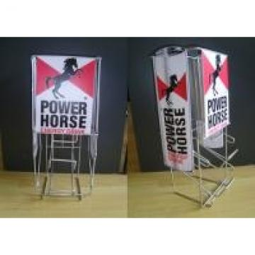 Iron Wire Food Display Stands For Can Dispenser Counter Top Easy Moving