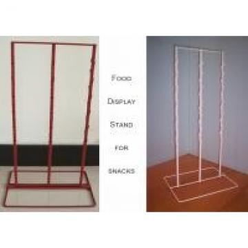 3 Strips Snake Potato Chip Clip Rack / Double Sides Food Hanging Chip Clip