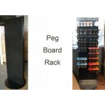 Spinner PegboardGrocery Store Display Racks With Two Sides Rotated Base